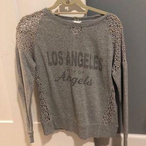 forever 21 los angeles sweatshirt